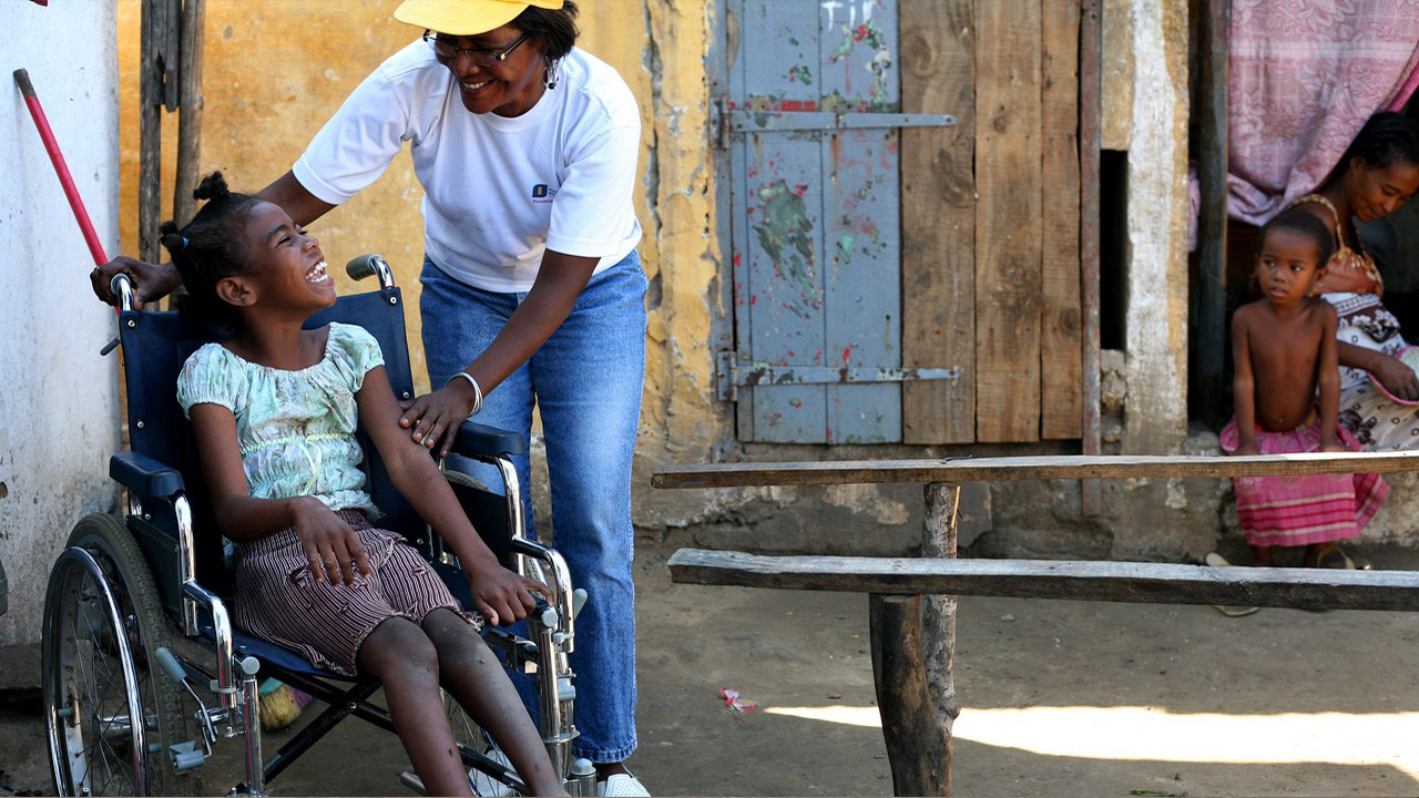 Madagascar is one of the poorest countries in the world. People with disabilities often live in tragic circumstances.