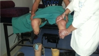 Jalal at a rehabilitation session.