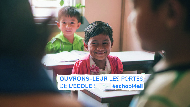 Campagne #school4all