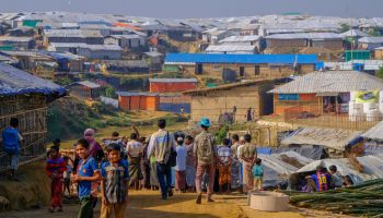 Almost one million Rohingya refugees living in Bangladesh