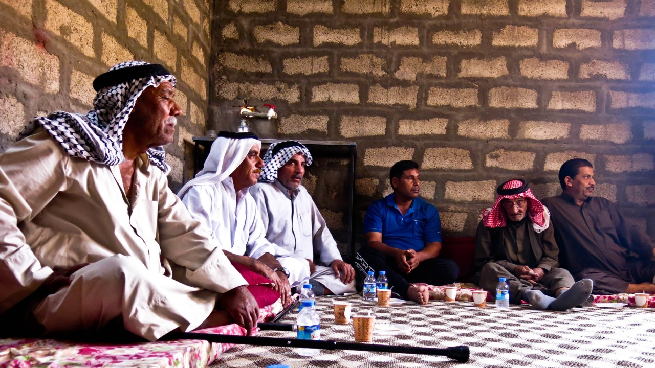 This psychosocial support group session, which took place in Bawa, aims at helping these men to cope with the traumatic events they have lived through while fleeing the conflict, as well as to rebuild their ability to communicate with others.