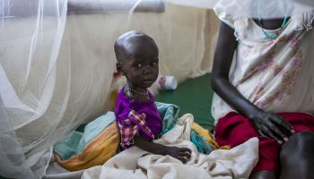 "South Sudan Refugee Crisis: ""We left without our parents"""
