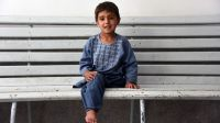 Sanaullah is 5 years old and was victim of a mortar in Afghanistan.; }}