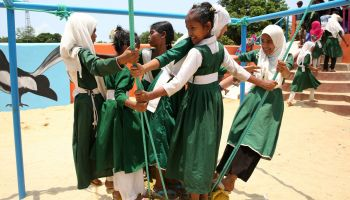 HI opens first ever inclusive playground in Teknaf, Bangladesh.