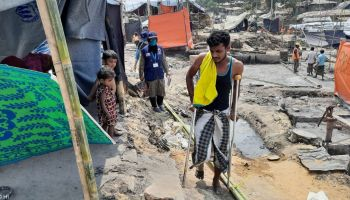 HI leads emergency response for Rohingya refugees affected by fire in Bangladesh