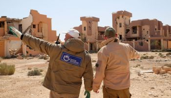 Clearing explosive weapons & keeping communities safe in Libya