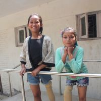 Nepal earthquake: inseparable Nirmala and Khendo