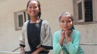 Khendo and Nirmala were earthquake victims in april 2015 in Nepal. ; }}