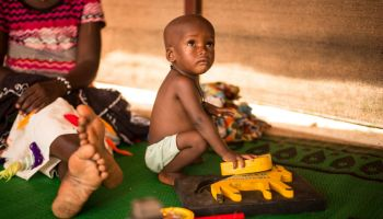 Helping malnourished children in the Sahel to flourish