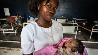 Health centre for mother and child in Bumbu, in DRC; }}