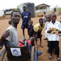 Adapting humanitarian services to people with disabilities in Bentiu camp