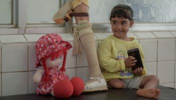 Seriously wounded in an air attack, Hala gradually resumes her life's journey