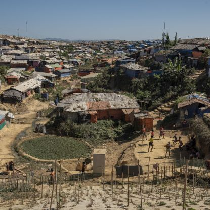 A day in the Ukhiya camp, home of 625,000 Rohingya refugees