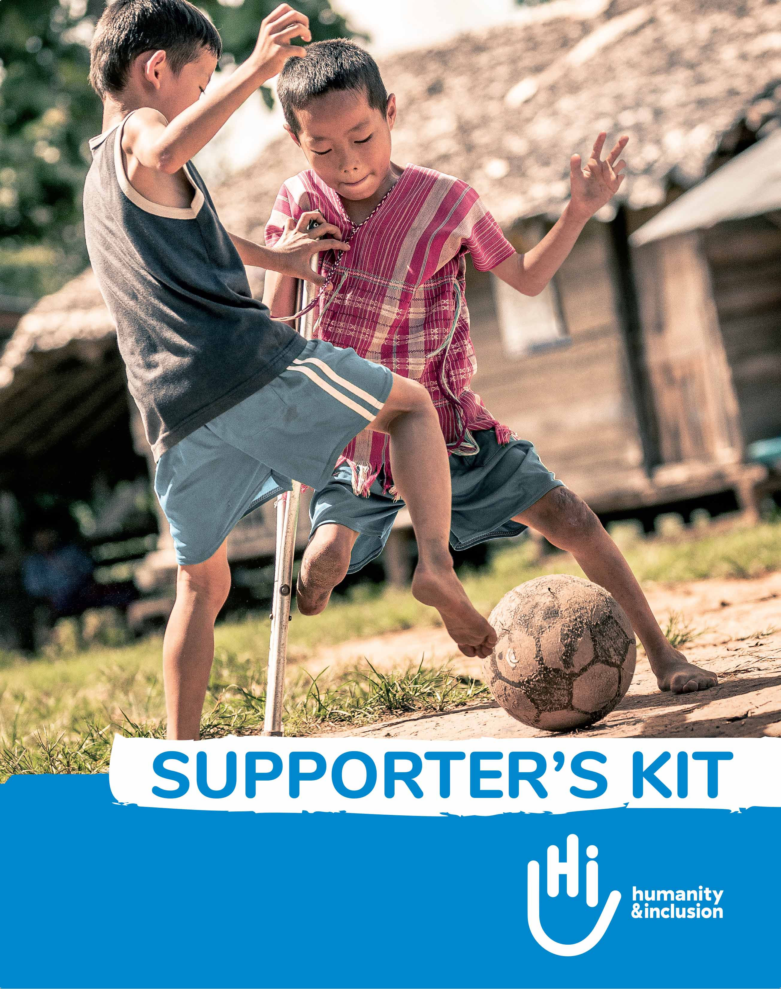 Guide du supporter d'Humanité & Inclusion Canada