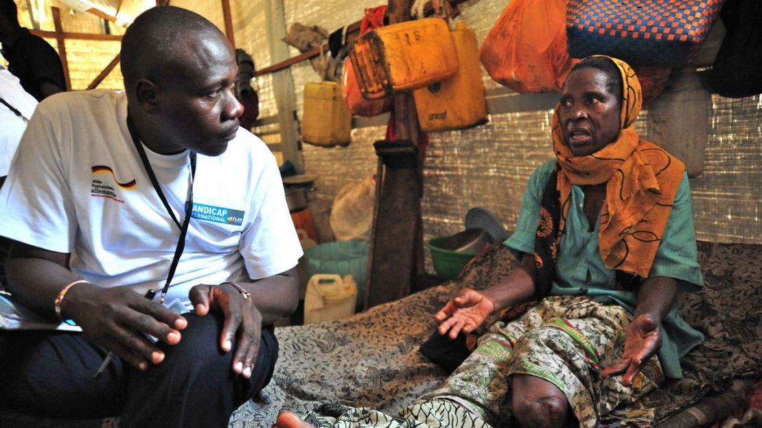Assessing living conditions in Democratic Republic of Congo - Humanity & Inclusion.