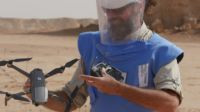 HI tests mine search drones in Northern Chad; }}