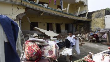 Rehabilitation care for earthquake victims in Pakistan
