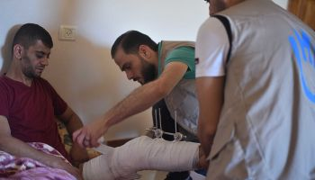 Heightened tension in Gaza: preventing further casualties and disability risks