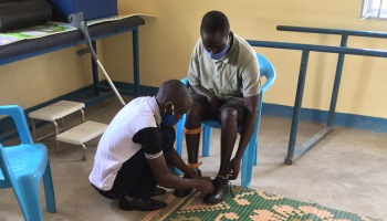 HI innovation restores hope in Uganda: Hakim walks thanks to 3D technology