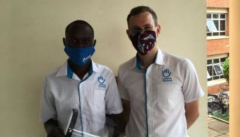 HI 3D prints face shields for COVID-19 first responders in Uganda