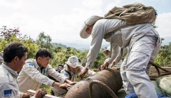 Clearance in Laos: the demining teams are not giving up!