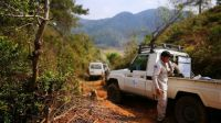 HI mine clearance operation in Laos ; }}