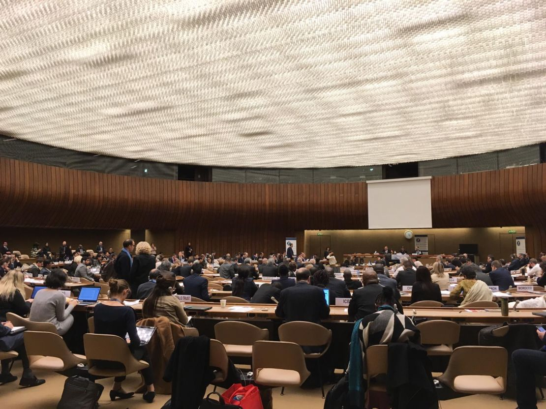 Conference of States Parties to the Ottawa Mine Ban Treaty - November 2018 à Genève
