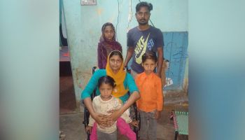 Saima and her family struggling to survive Covid-19 in Pakistan