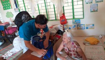 Eruption of Taal Volcano in the Philippines: HI's teams assess the needs of disaster-affected people