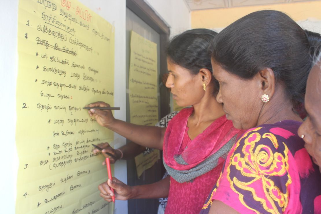Women participation in Sri Lanka peace process