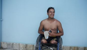 Incredible Ramesh: a victim of the Nepal earthquake, he has won 22 sports medals