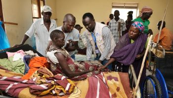 South Sudan: HI's emergency mobile teams assist displaced people